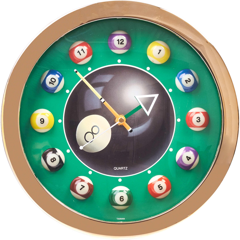 Relógio de Parede Pool (12 Bolas)