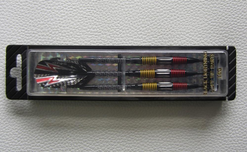 Conjunto Dardos Black Lightning 15 g