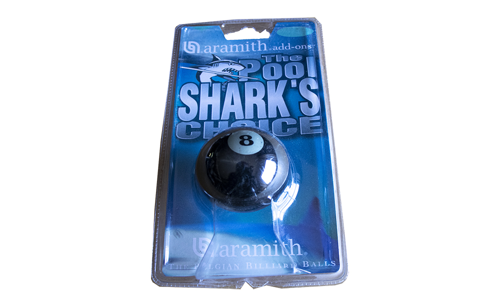 Bola Aramith Tubarão nº8 de 57,2mm (Blister)