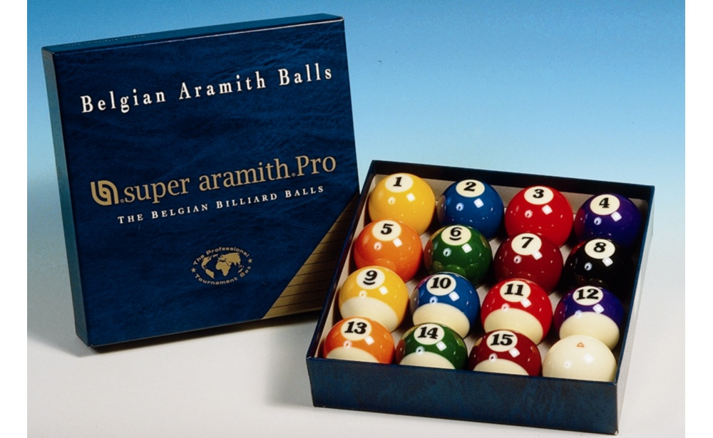JUEGO BOLAS POOL SUPER ARAMITH PRO 57,2MM