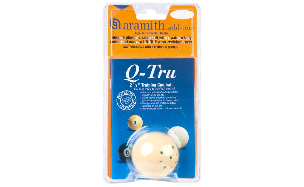 Bola de Treino Pool Q-Tru 57,2mm (Blister)