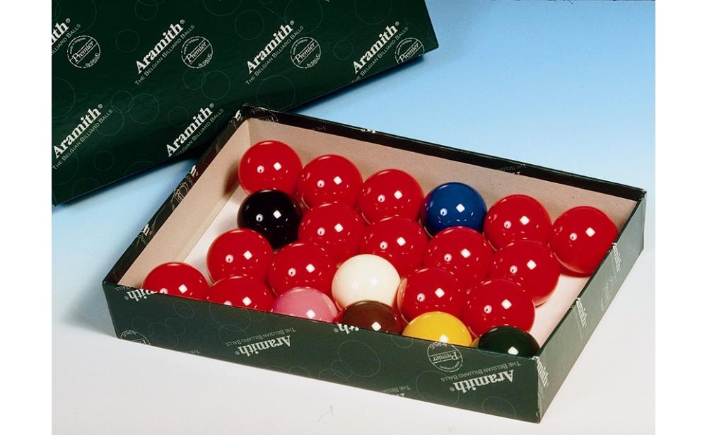 Jogo Bolas Snooker Aramith (22) 57,2mm